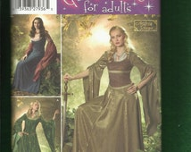 Simplicity 4940 Maid Marian Dresses Stepping Out in Sherwood Forest Sizes 10 to 18 UNCUT