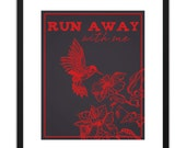 Printable Art Run Away With Me 8x10