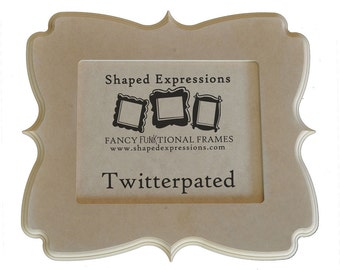 5x7 whimsical picture frame - Twitterpated unfinished