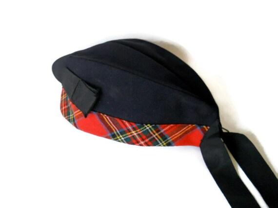 RESERVED for Joyce Vintage Hat Scottish Bonnet 1940s