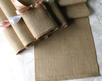 Burlap table runners, WEEKEND SPECIAL  burlap wedding runners