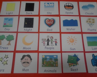Creation Felt, Creation Felt Board Pieces, Creation, Felt Board Set, Felt Toy, Creation Story, Toddler Bible, Preschool Learning, Bible Felt