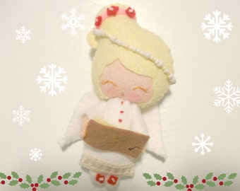 Angel Doll - Gingermelon Doll - Christmas Ornament
