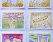 Inspirational Cards - Professional Prints, Blank Inside W/ Envelopes