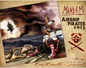 2014 AIRSHIP PIRATES Calendar by MANDEM (Abney Park) - Notes from a Time Traveller's Journal