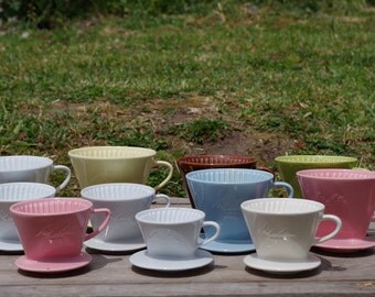 Vintage  Melitta Coffee Filters, many sizes and colors!