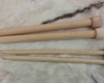Clover Wooden Knitting Needles