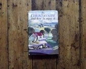 Vintage book mid century 1950s 1960 countryside home decor vtg British book rural books retro book woodland book book decor DollyTopsyEtsyUK