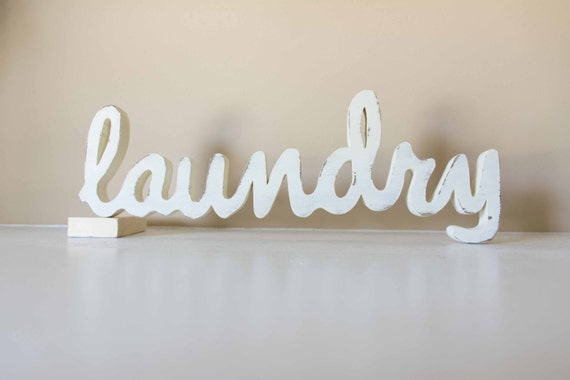 Laundry Room Art Laundry Sign Custom Wood Sign
