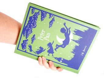 Book Clutch Purse- Peter Pan