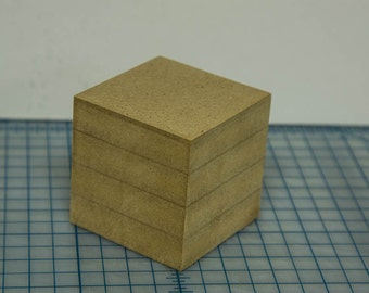Wood Cube, Set of 2, 3x3x3, Photo Cube, Wood Art Block, Wood Block Art, Wood Photo Block, Wooden Photo Block, Wood Blocks, Photo Blocks