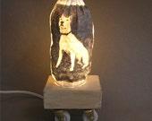 Handmade Accent Lamp
