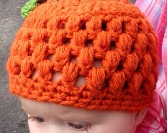 Baby Pumpkin Hat