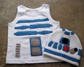 R2D2 Childrens Costume, Dressing Up Outfit, Star Wars Costume, Custom Order, Robot Costume