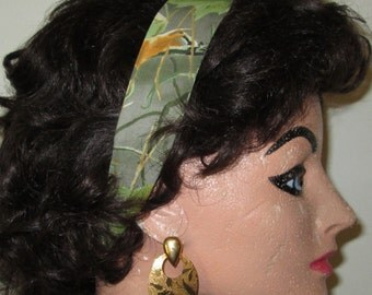 Handmade Camouflage Headband