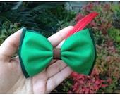 Peter Pan hair bow