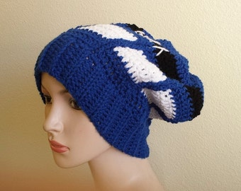 Adult Doctor Who Inspired Slouch hat Winter hat Slouchy hat T.A.R.D.I.S. Slouchy Hat