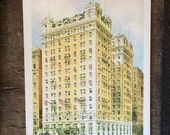 Vintage Postcard - The Southern Hotel, Baltimore Maryland