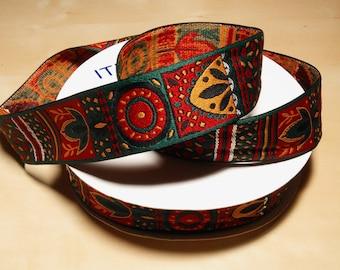 30 Yards of Tribal/ Native American/ Aztec Jacquard Ribbon Trim