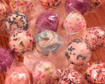 Gluten-free  Cake Pops Or Cake Balls for all occasions 24 cake  pops 2 dozen