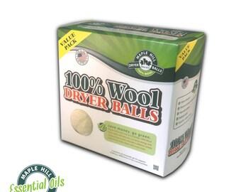 4 Essential Oil Scented Dryer Balls