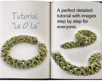 Jewelry Tutorial.... la O la ... O-Bead Bracelet O-Bead Tutorial