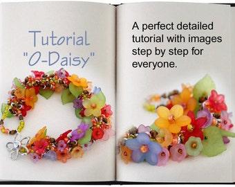 Jewelry Tutorial.... O-Daisy... O-Bead Bracelet O-Bead Tutorial