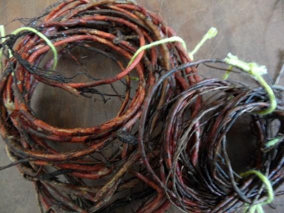 Traditional Basket Making : Cedar root basketry supplies basket making