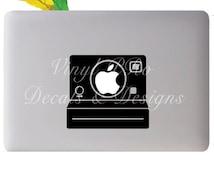 Polaroid Camera Photography Film Developer Snapshot Vintage Film Geekery Decal for Macbook