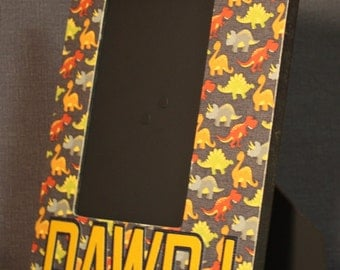 RAWR! picture frame