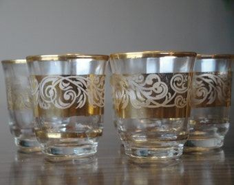 Shot Glasses made in France - 1950's.