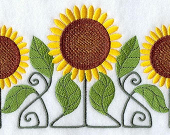 Novelty Sunflower Sweatshirt