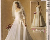 McCall's Sewing Pattern 3455 - Misses' Bridal Gown and Bridesmaid's Dress (6-10)