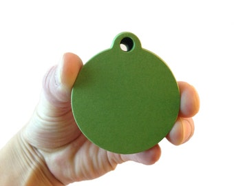 "2"" Gumdrop Green Circle Paper Tags - Create Something Truly Unique! - 100 Count"