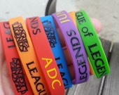 SALE League of Legends Silicone bracelet