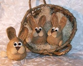 Primitive Pattern, Primitive Little bunny, bowl fillers, - 228, PDF, HAFAIR