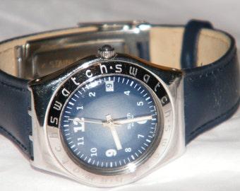 Vintage Ladies Sundown YLS404 Spring Summer Swatch Swiss Irony Medium Watch
