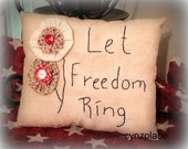 Let Freedom Ring Americana Pillow Tuck