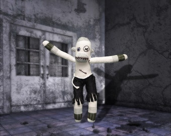 Bob the zombie - sock monkey
