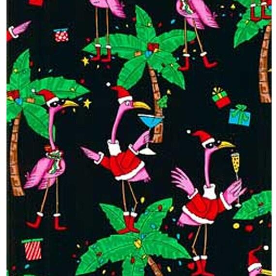 Flamingo Christmas Party - Black