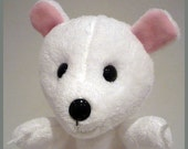 Icy, the polar bear - Hand puppet