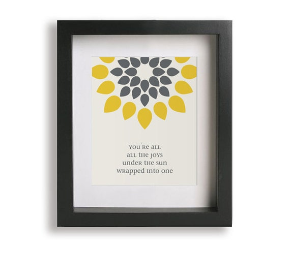 You re all i need to get by marvin gaye music lyric art print