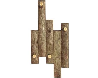 Elegant Coat Rack with Bark, Rustic Coat Rack, Cabin Coat Rack, Rustic Hat Rack