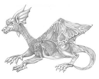Dragon original art
