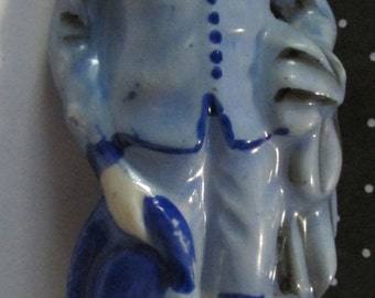 Vintage Blue Boy figurine Japan miniature