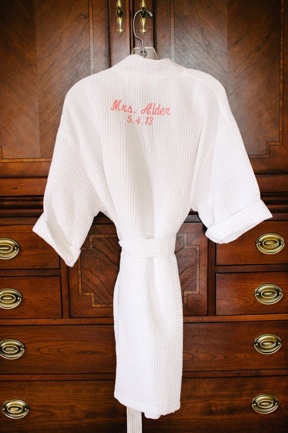 BRIDESMAID GIFT Wedding Robes Personalized Robes Getting