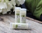 Green Tea Lip Balm All Natural Matcha Peppermint Black Friday Sale