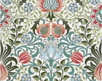 William Morris Persian Wallpaper Design Counted Cross Stitch Pattern Chart PDF Download by Stitching Addiction