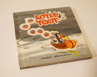 Little Toot - Hardie Gramatky - Vintage Children's Book