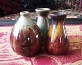 Three Pottery Vases